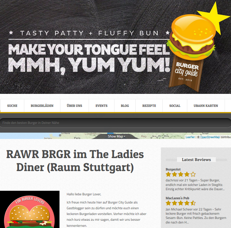 RAWR BRGR zu Gast auf Burger City Guide