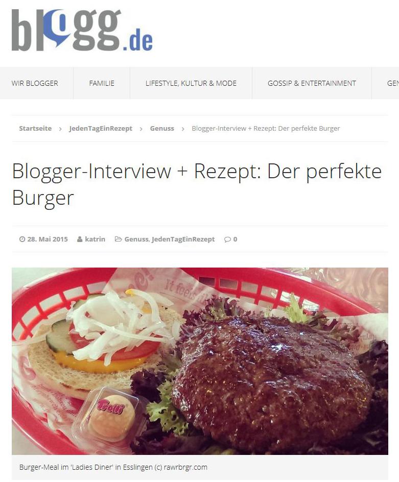 RAWR BRGR im Interview auf blogg.de