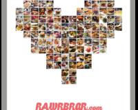 100 Burger auf RAWR BRGR