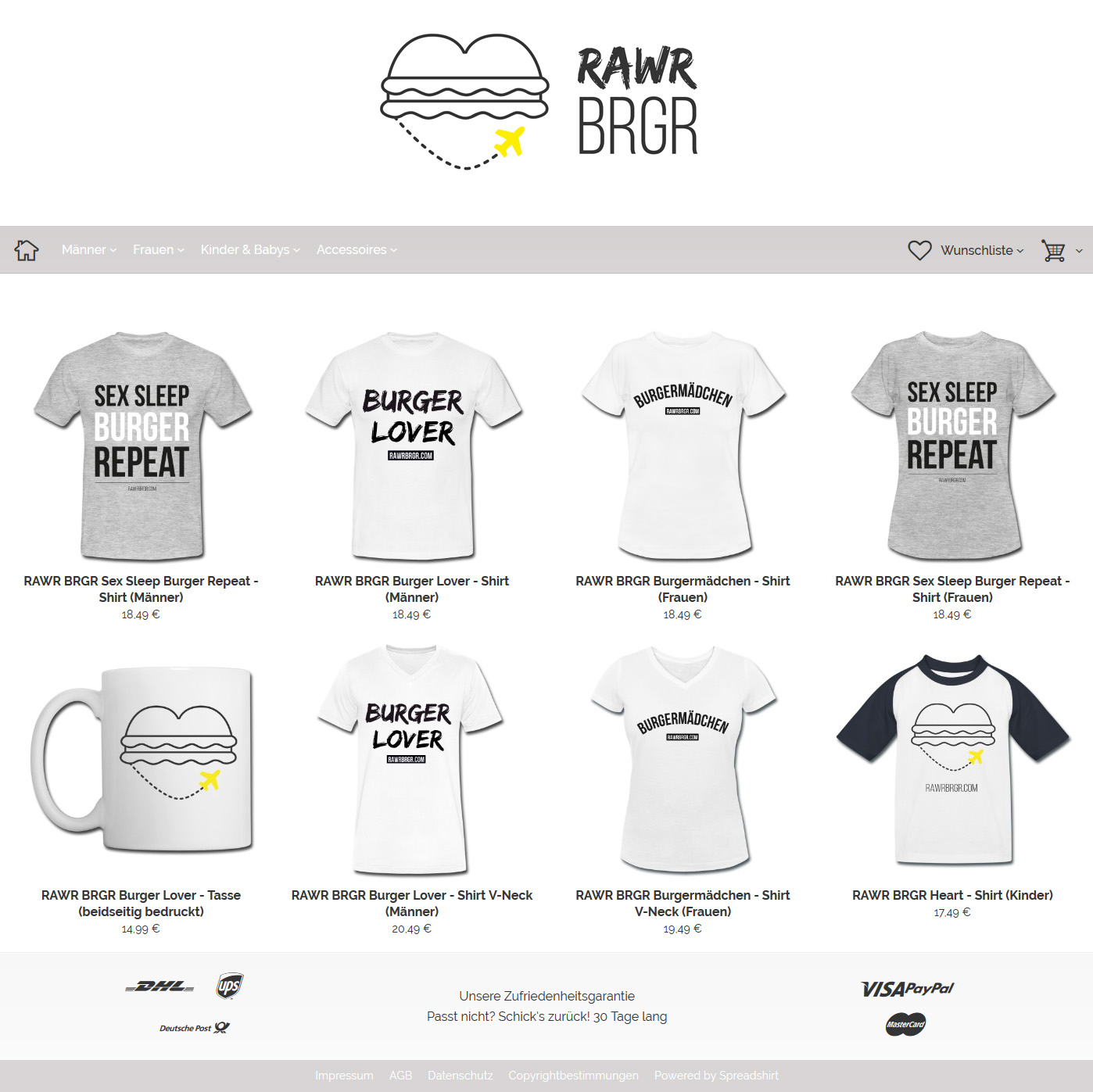 Burger Lover Shop