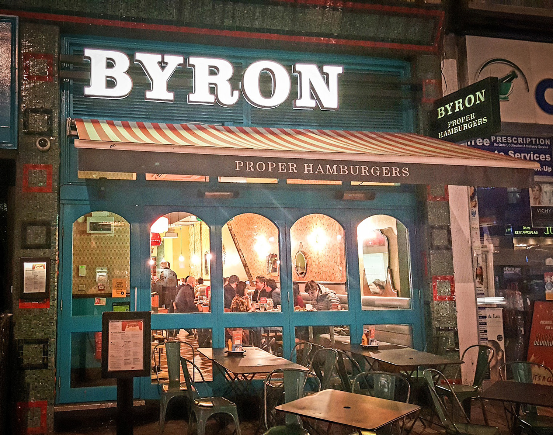 London Byron Burger
