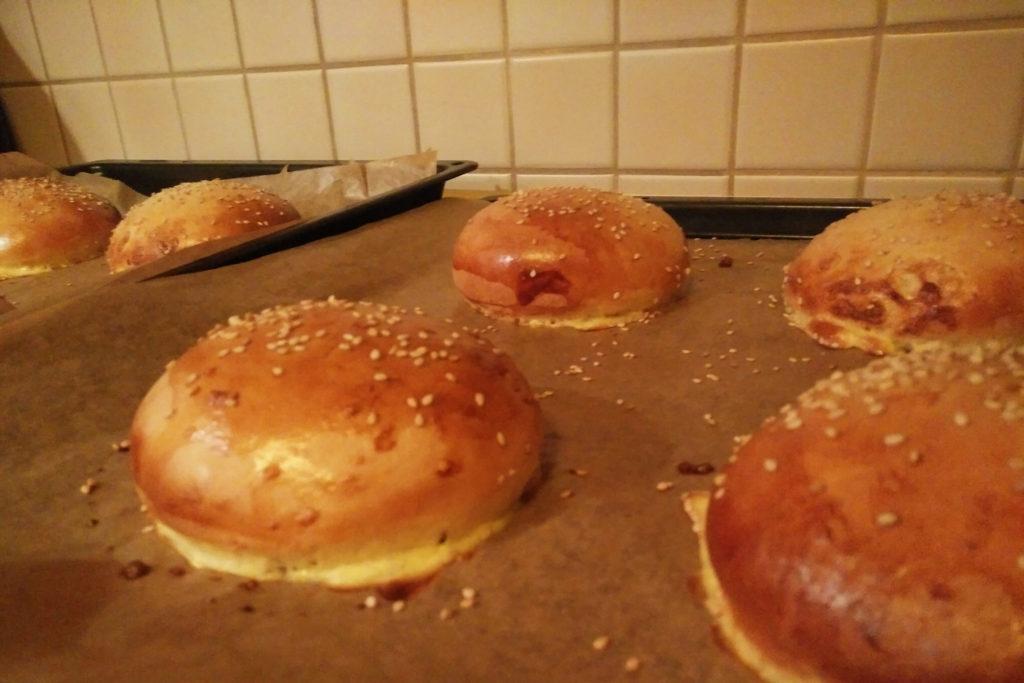 Rezept Brioche Buns Burger