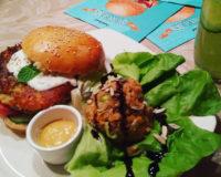 "Veggieburger Holy Holi aus der ""Burger Revolution"""