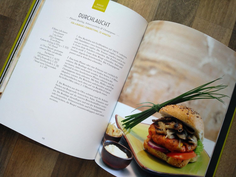 Hans im Glück: Das Burger Buch