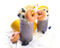 Blueberry-Lemon Milkshake
