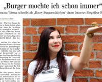 Das Burgermädchen gibt's gedruckt!