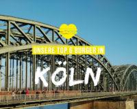 Unsere 6 liebsten Burger in Köln